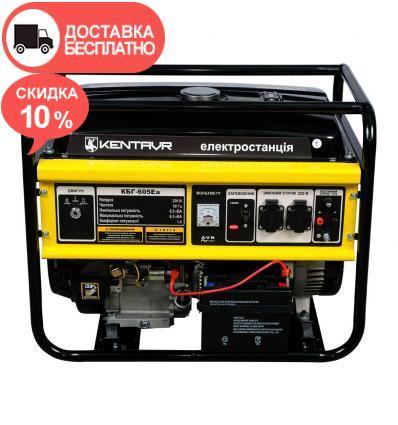 Генератор бензиновый Кентавр КБГ605Ea