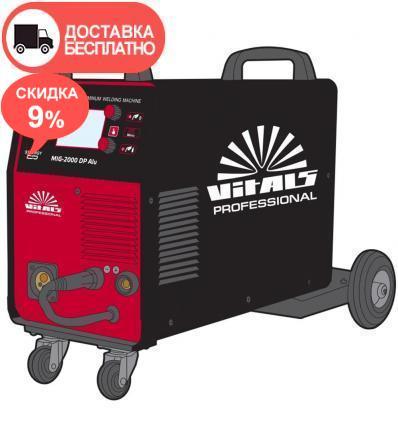 Сварочный аппарат Vitals Professional MIG 2000 DP Alu