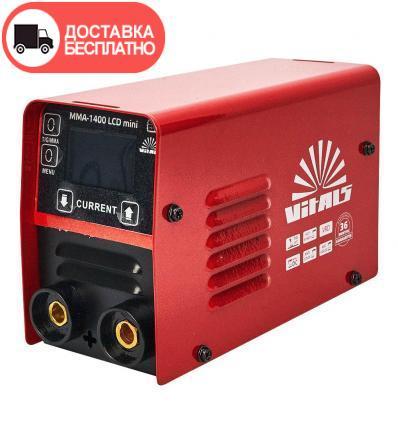 Сварочный аппарат Vitals MMA-1400 LCD mini
