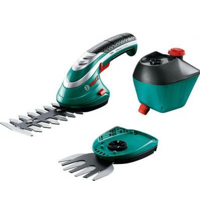 Аккумуляторные ножницы для травы и кустов Bosch Isio 3 с пульверизатором