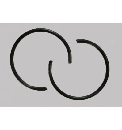 Кольца стопорные поршневого пальца комплект - 186F (дизель 9 л.с. воздушное охлаждение)