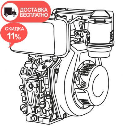 Двигатель дизельный Vitals DM 12.0kne