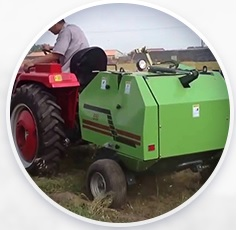 Работает с трактором или мотоблоком